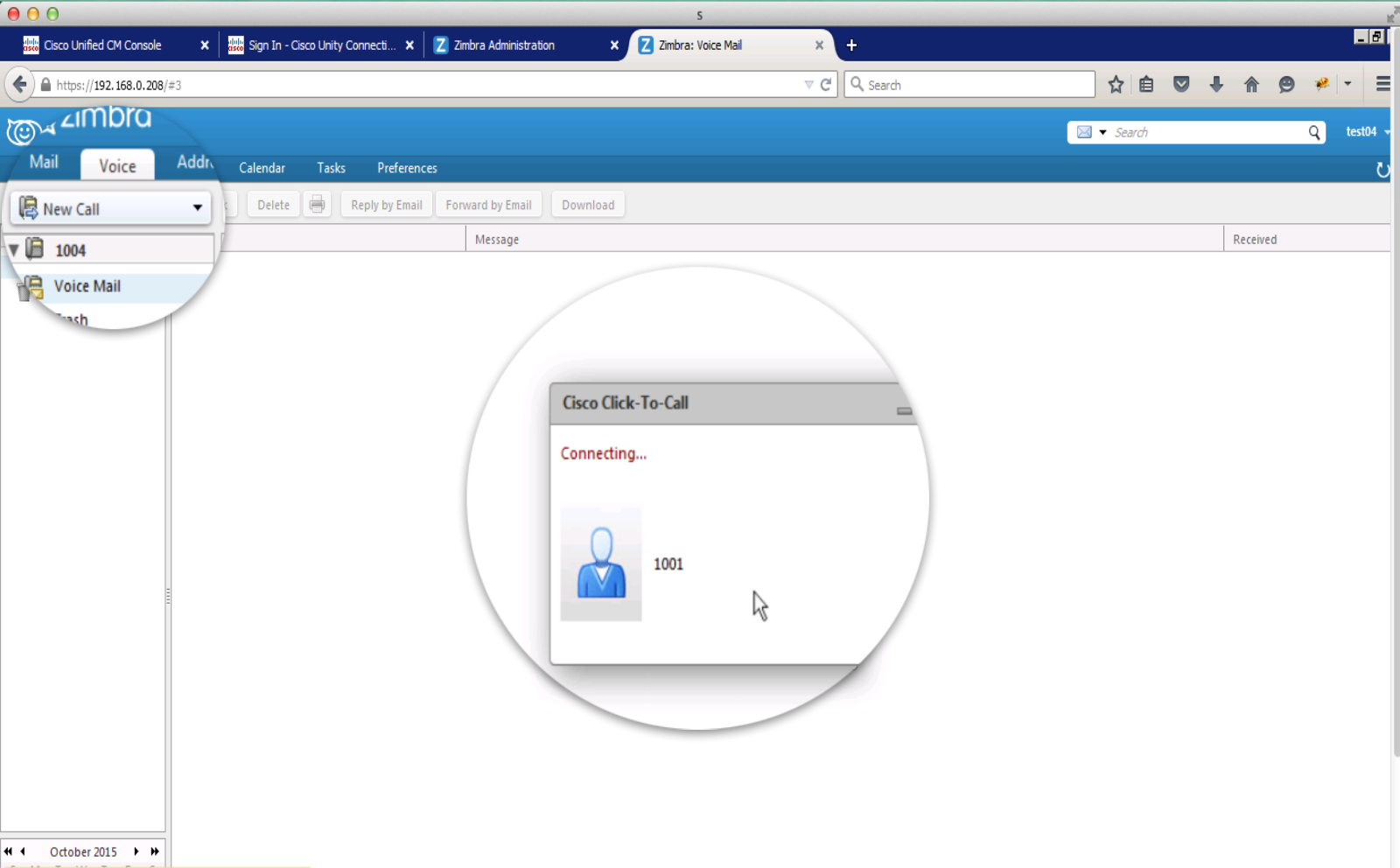 Integrated Unified Communications Zimbra Email