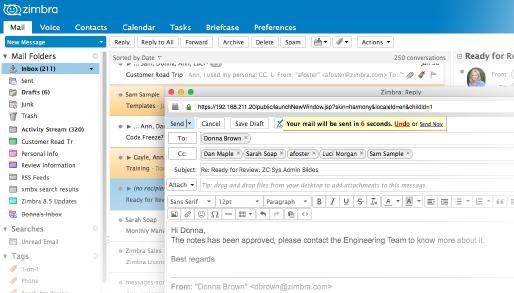 Email Server Software for the Enterprise - Zimbra
